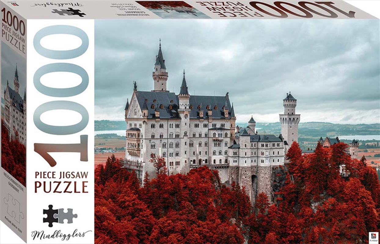 Neuschwanstein Castle 1000 Piece Jigsaw Puzzle | Merchandise