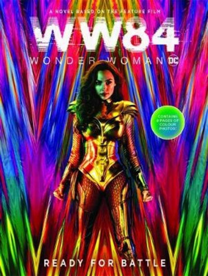 Wonder Woman 1984: Movie Novel (dc Comics)   Paperback Book