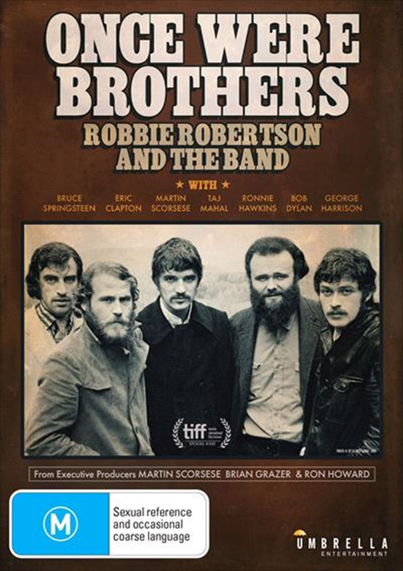 Once Were Brothers - Robbie Robertson And The Band | DVD