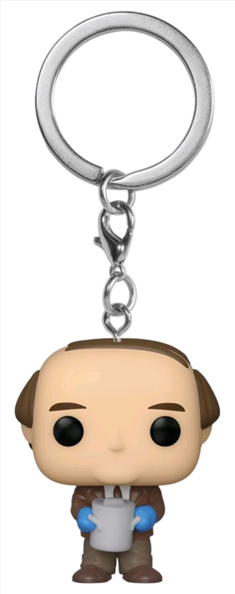 The Office - Kevin with Chilli Pocket Pop! Keychain | Pop Vinyl