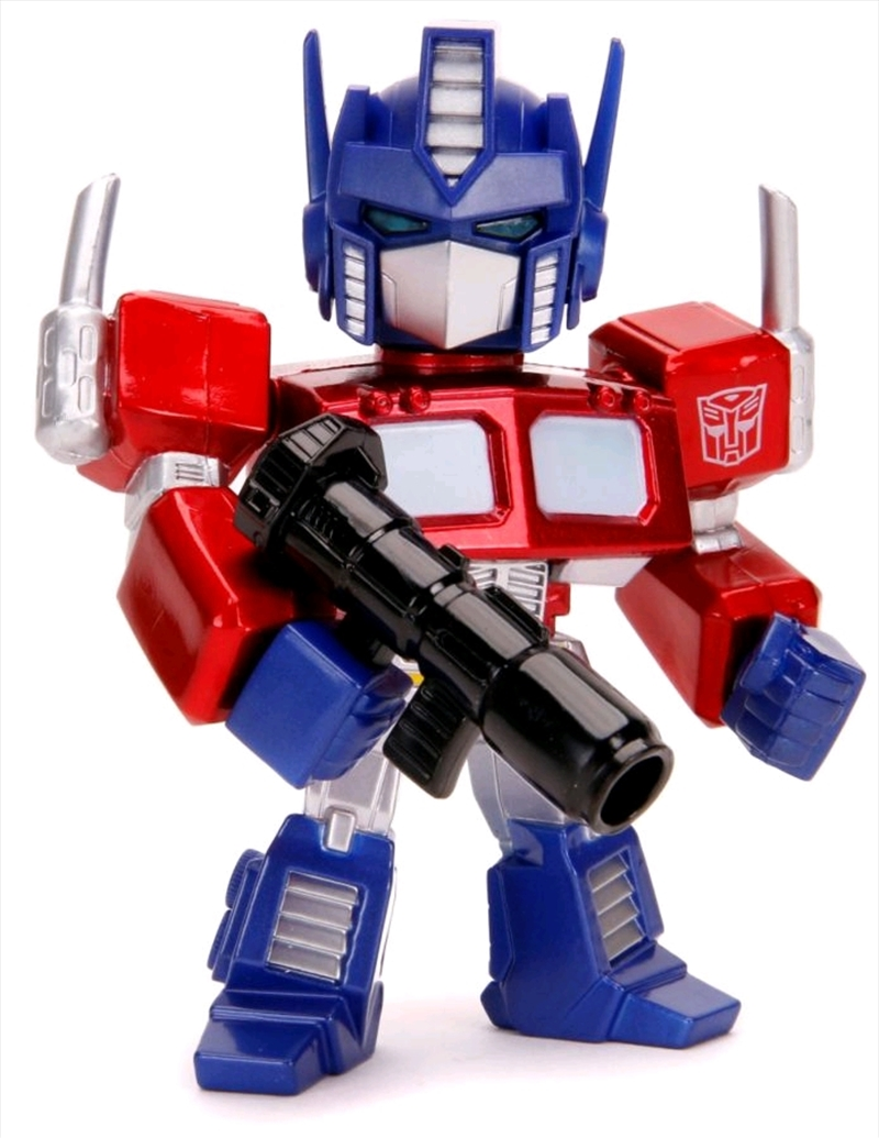 "Transformers - Optimus Prime Cartoon 4"" Metals   Merchandise"