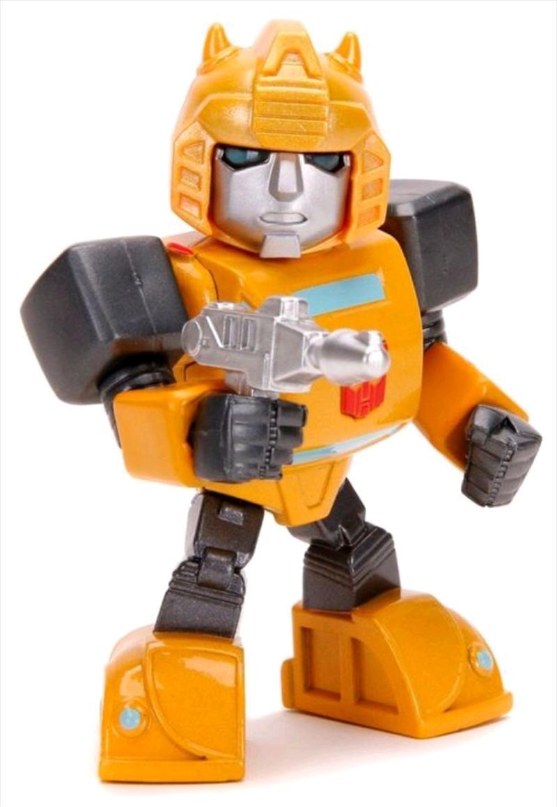 """Transformers - Bumblebee Cartoon 4"""" Metals   Merchandise"""