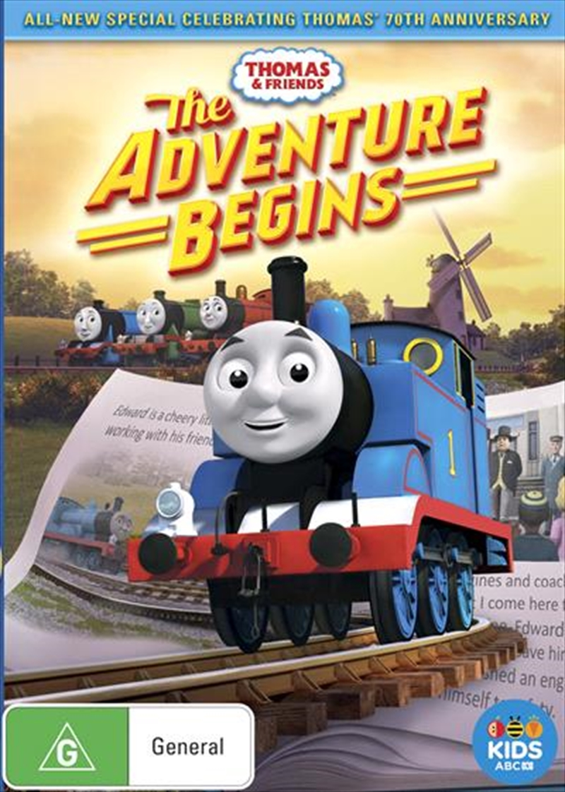 Thomas and Friends - The Adventure Begins | DVD