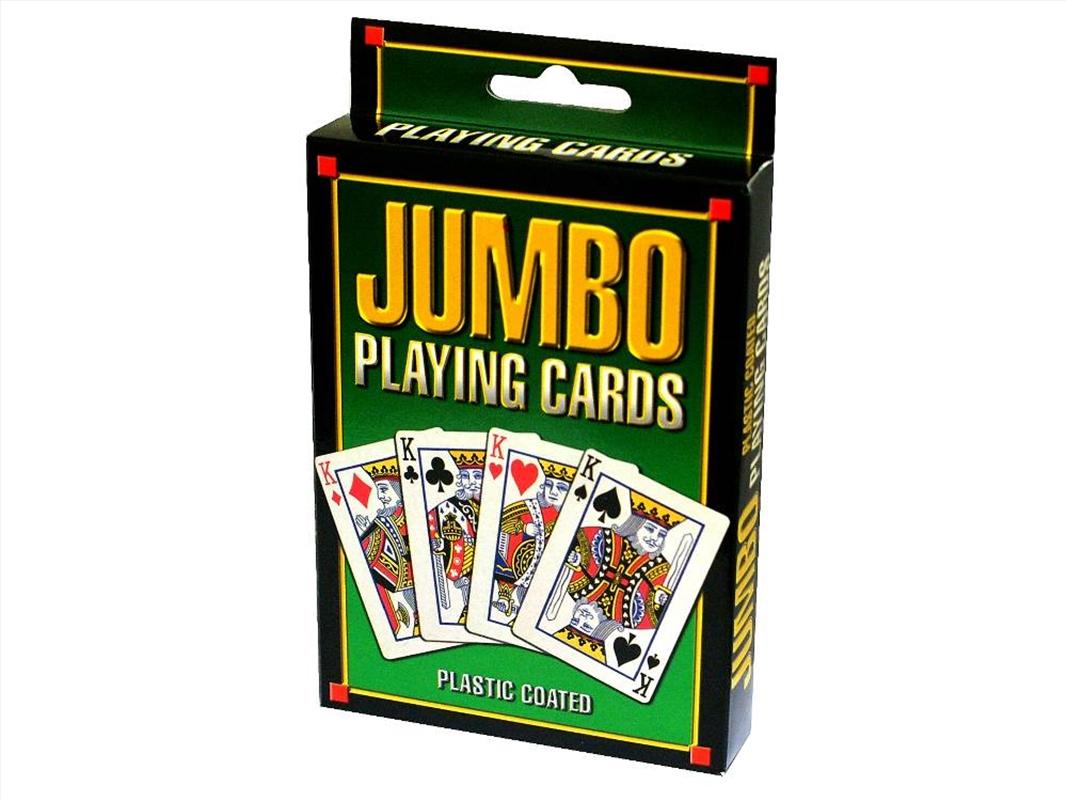 Jumbo Playing Cards - Plastic | Merchandise