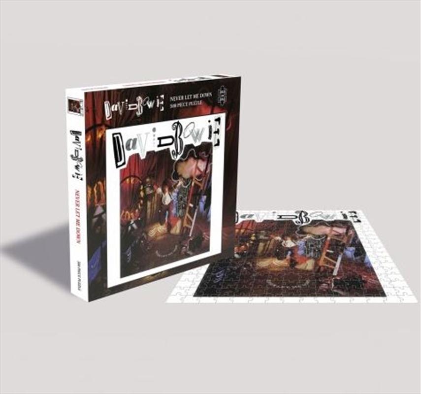 David Bowie – Never Let Me Down 500 Piece Puzzle   Merchandise