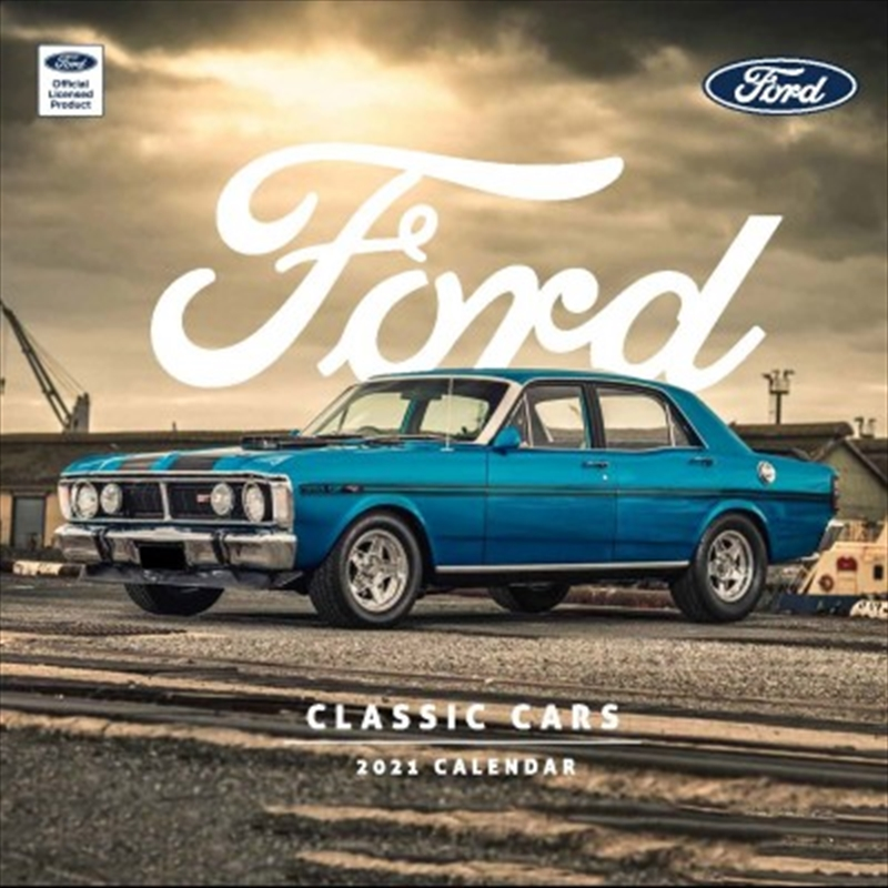 Classic Ford Cars 2021 Square Calendar | Merchandise