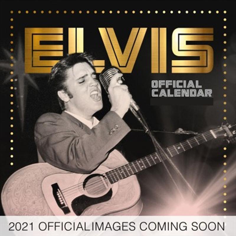Elvis 2021 Square Calendar | Merchandise