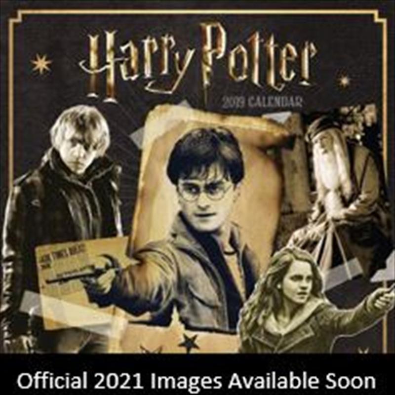 Harry Potter 2021 Square Calendar | Merchandise
