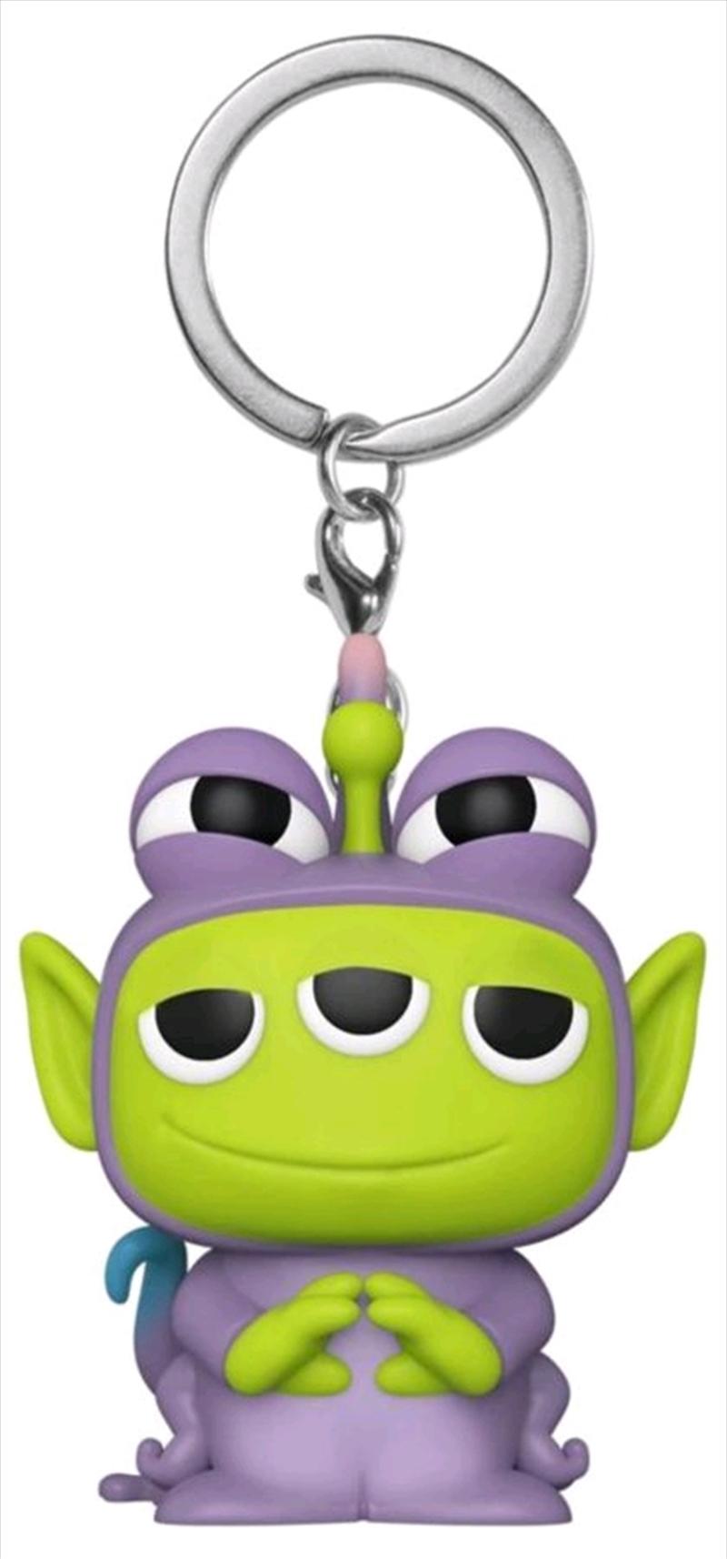 Pixar - Alien Remix Randall Pocket Pop! Keychain | Pop Vinyl