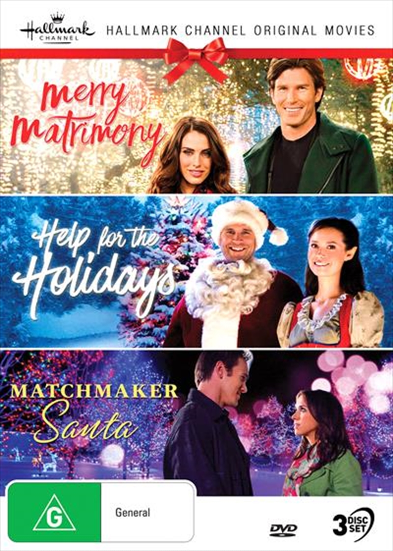Hallmark Christmas - Merry Matrimony / Help For The Holidays / Matchmaker Santa - Collection 6 | DVD