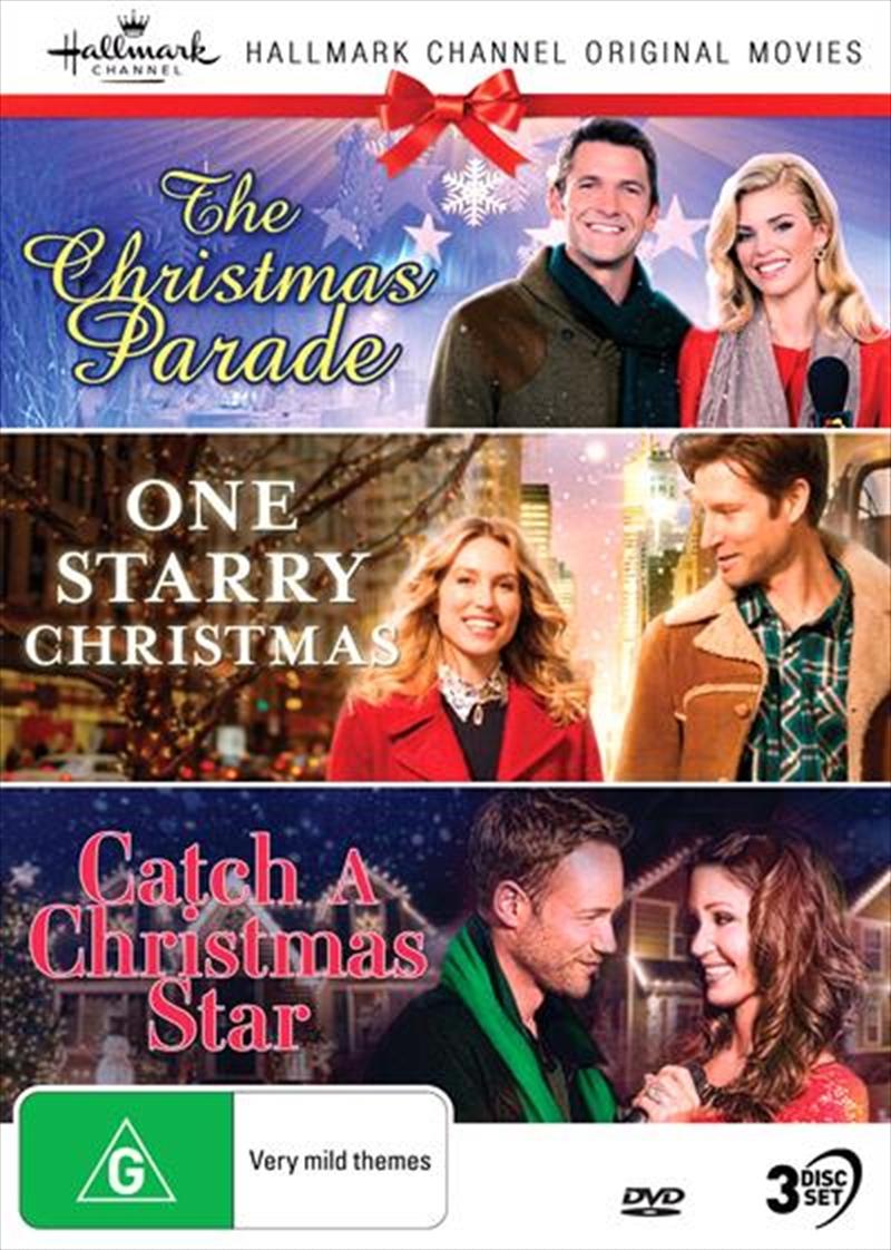 Hallmark Christmas - The Christmas Parade / One Starry Christmas / Catch A Christmas Star - Collecti | DVD
