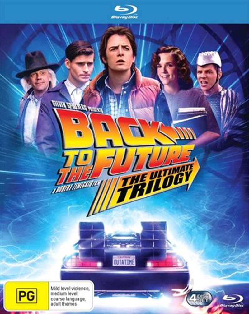 Back To The Future / Back To The Future 2 / Back To The Future 3 | Remastered - 3 Movie Franchise Pa | Blu-ray