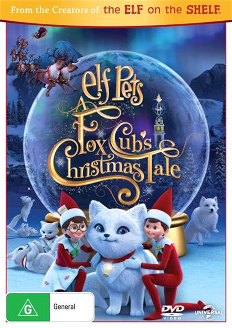 Elf Pets - A Fox Cub's Christmas Tale | DVD