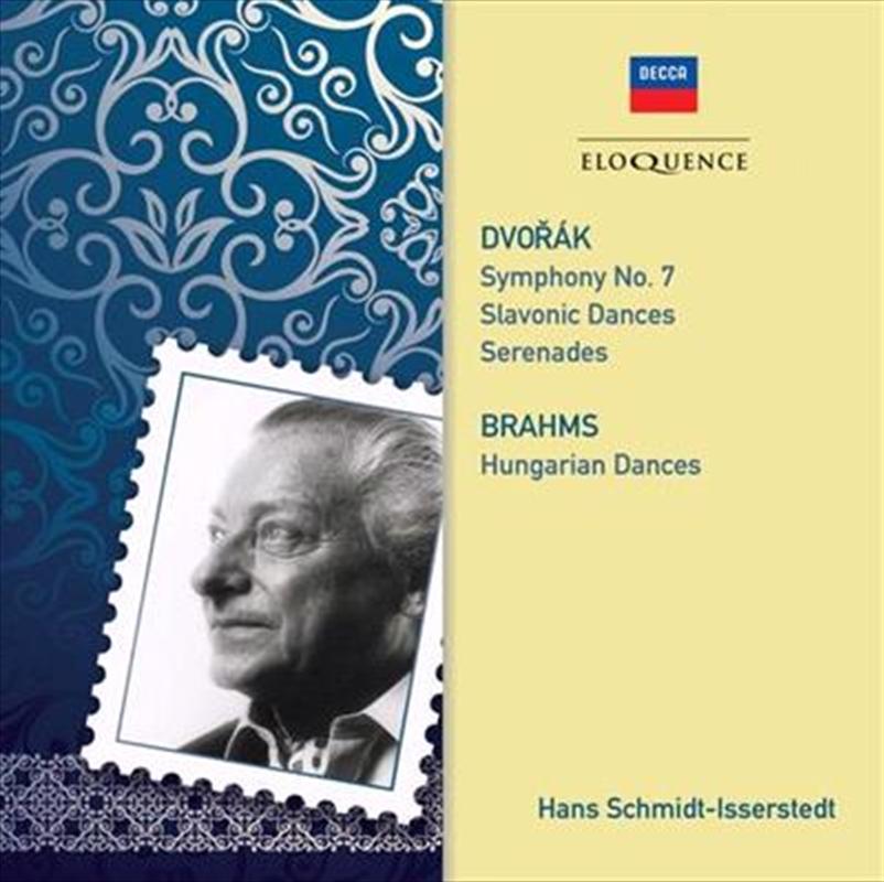 Dvorak And Brahms - Orchestral Music   CD