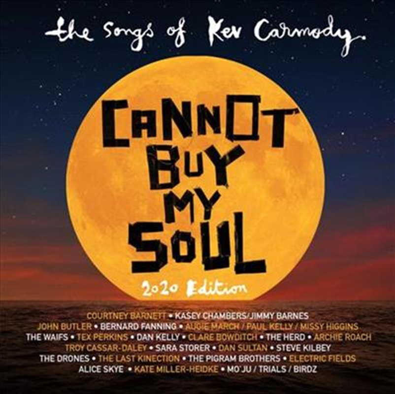 Cannot Buy My Soul - Songs Of Kev Carmody - Red And Black Coloured Vinyl | Vinyl