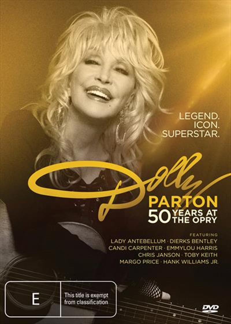 Dolly Parton - 50 Years At The Opry | DVD