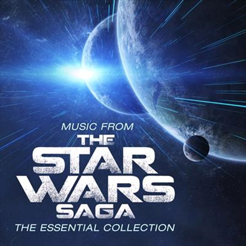 Music From The Star Wars Saga - Limited Edition Flaming Coloured Vinyl | Vinyl