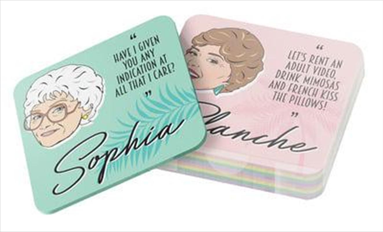 Golden Girls Drink Coasters | Merchandise
