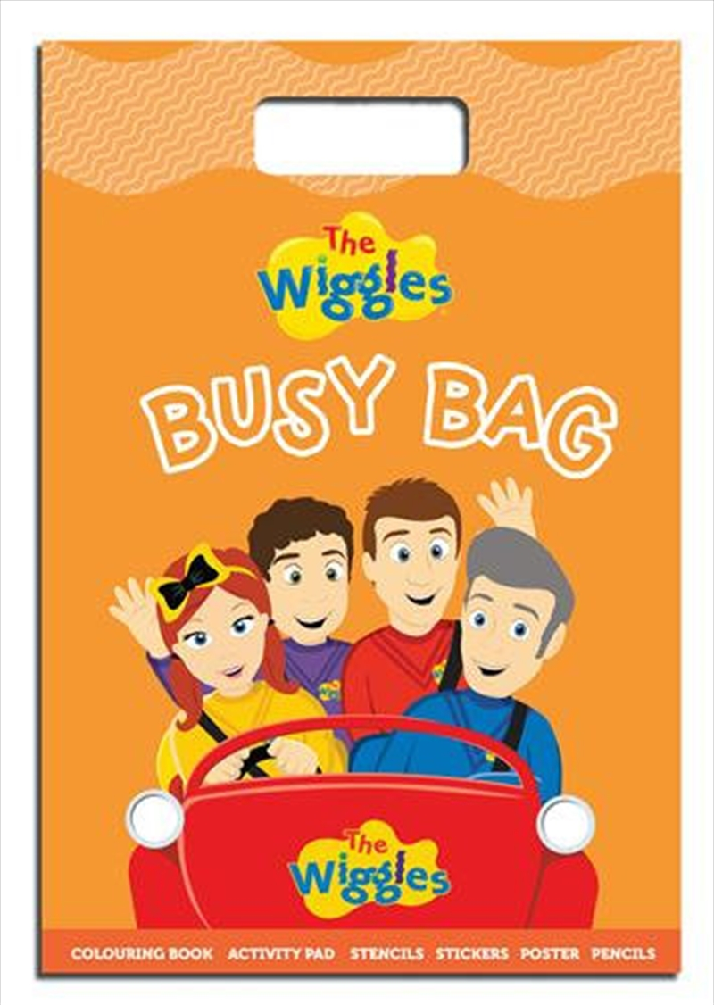 Busy Bag - The Wiggles | Colouring Book