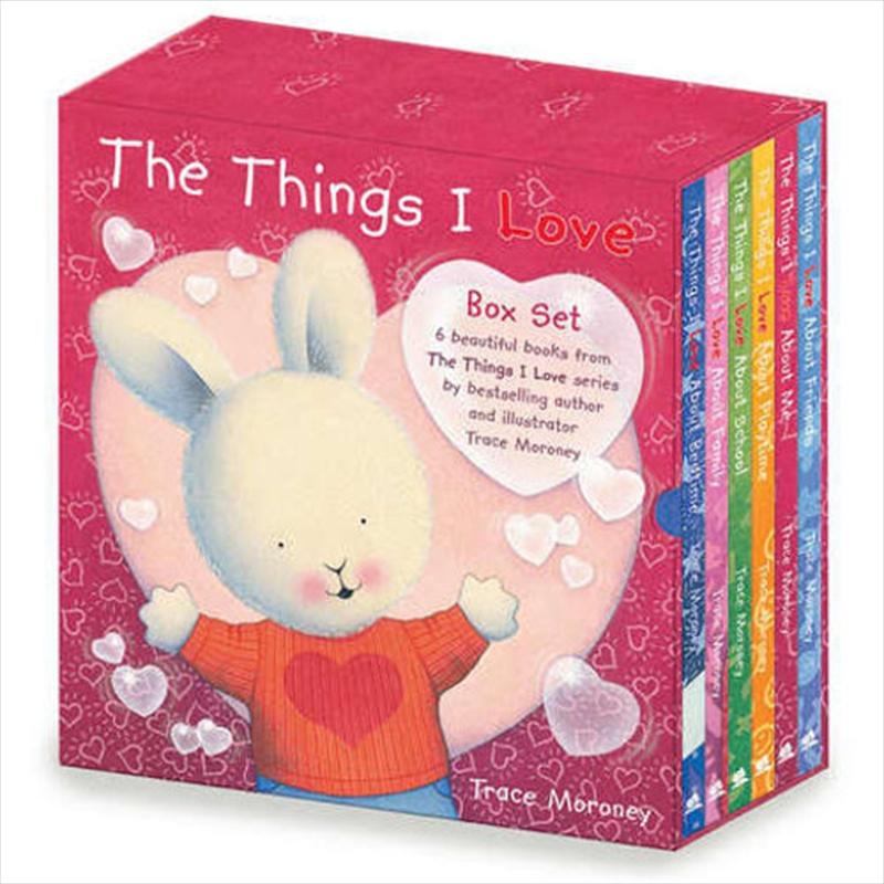 Things I Love: Storybook Gift Slipcase   Hardback Book