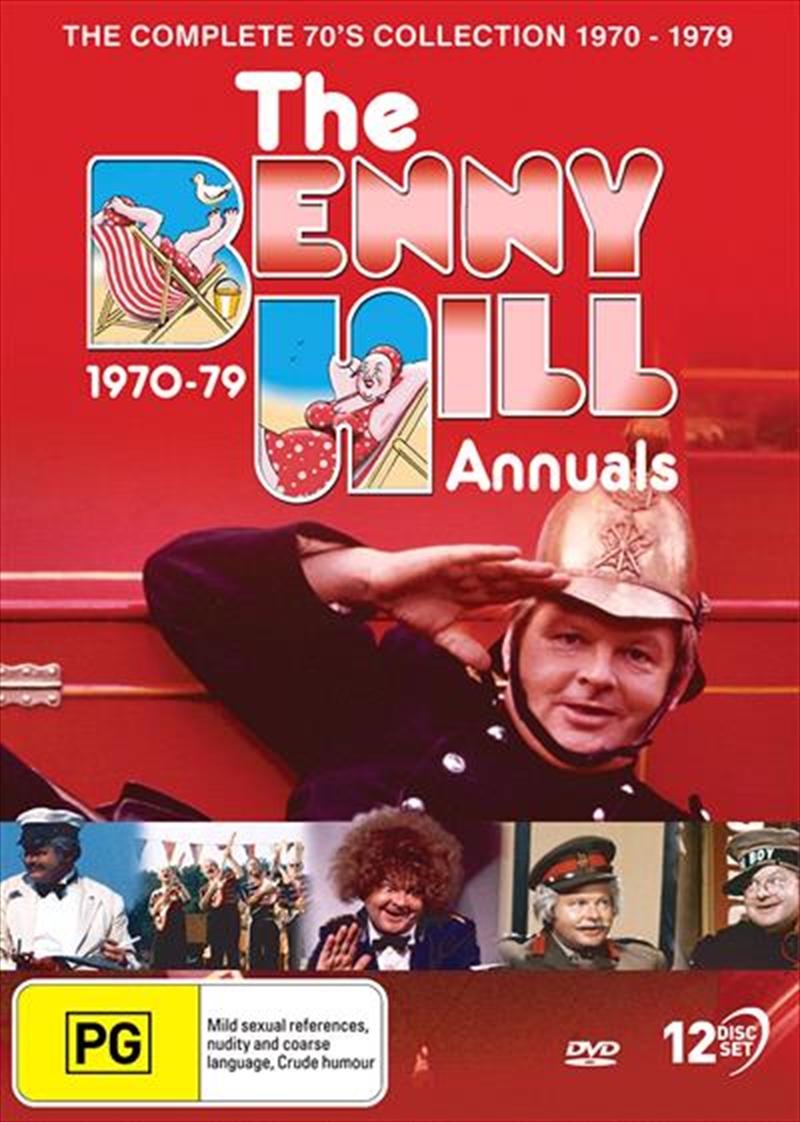 Benny Hill Annuals - 1970 To 1979 | Boxset, The | DVD
