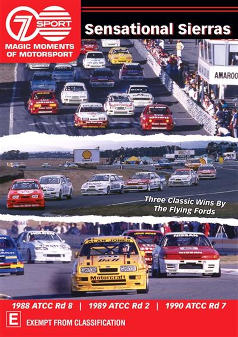 Magic Moments Of Motorsport - Sensational Sierras | DVD