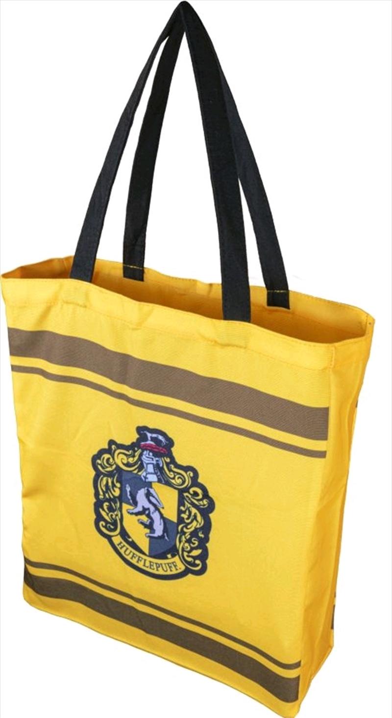 Harry Potter - Hufflepuff Crest Shopper Bag | Apparel