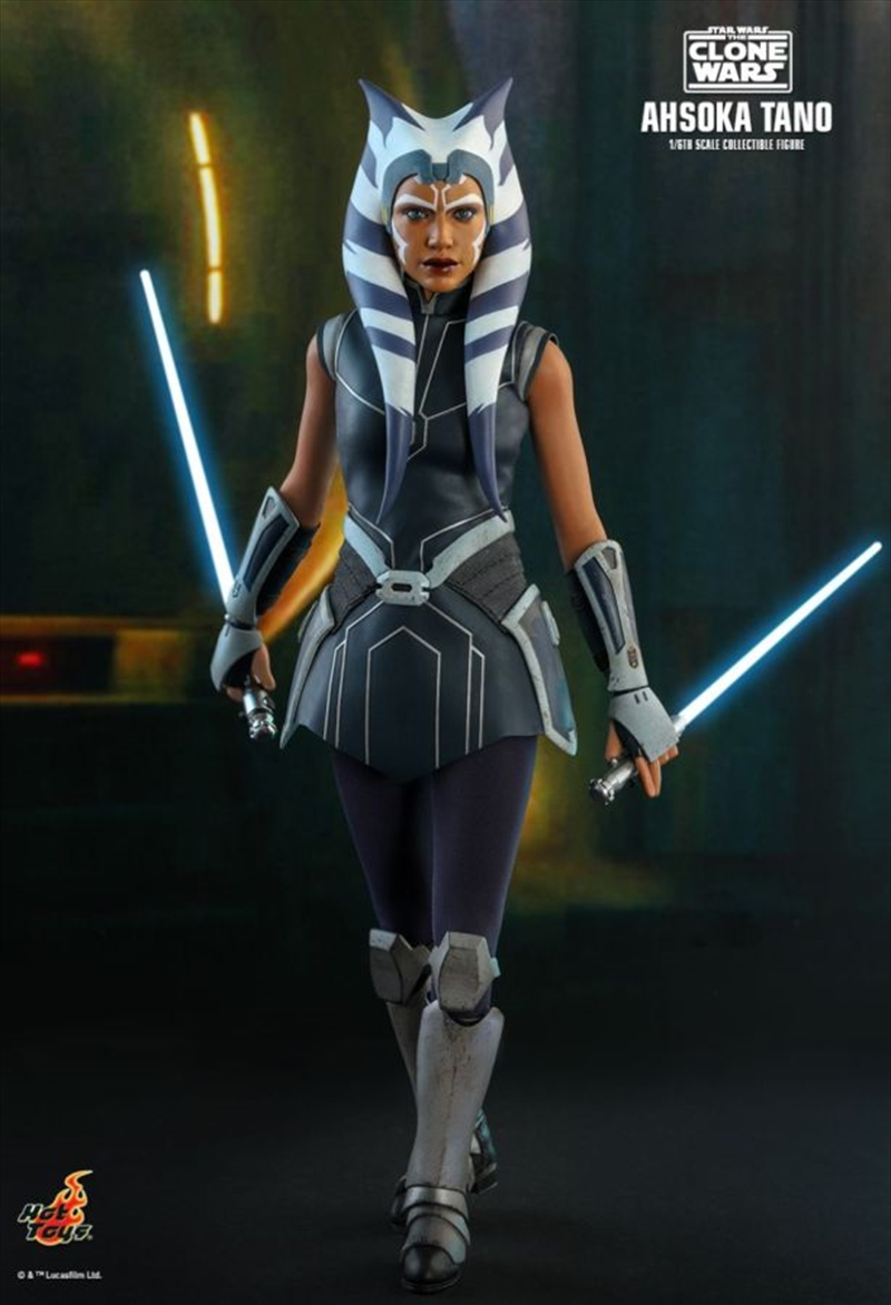 "Star Wars: The Clone Wars - Ahsoka Tano 1:6 Scale 12"" Action Figure | Merchandise"
