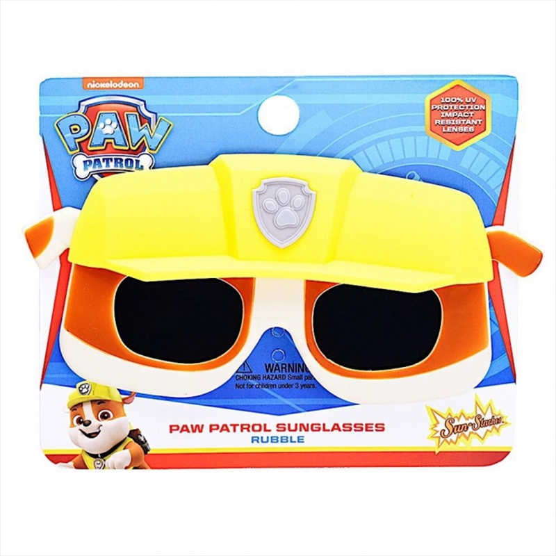 Lil Characters: Paw Patrol Rubble Sun-Staches | Apparel