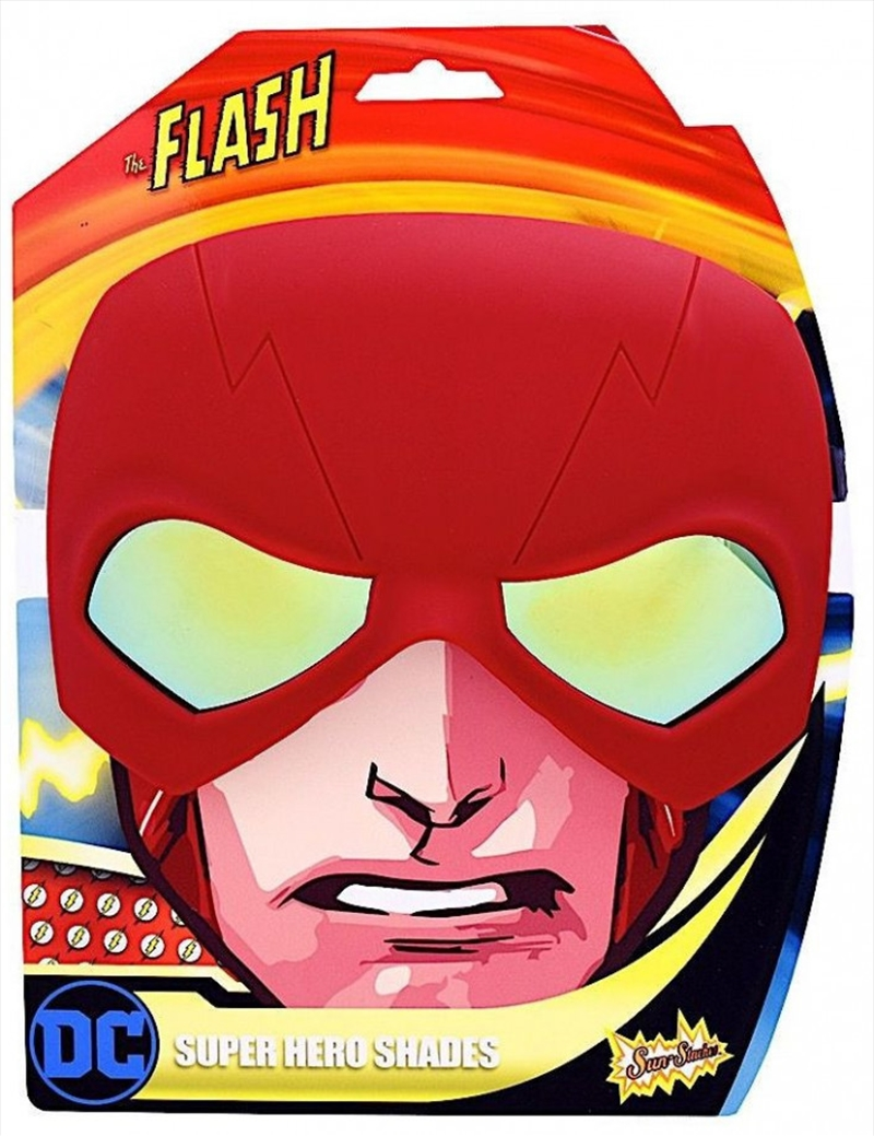 Big Characters: Flash Sun-Staches | Apparel