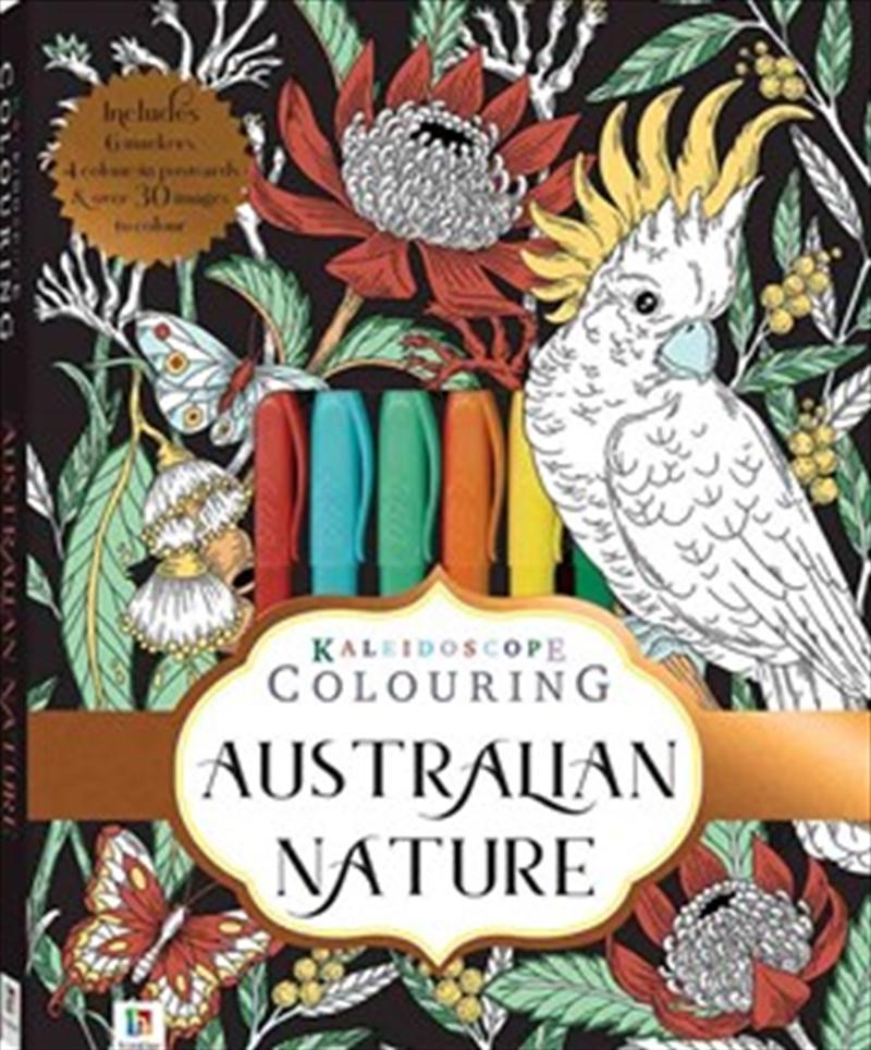 Australian Nature - Colouring Kit | Hardback Book