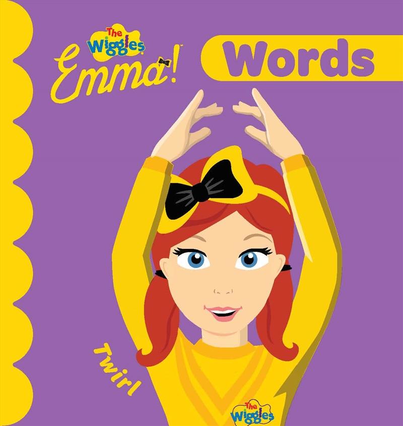 Wiggles Emma: Words | Board Book