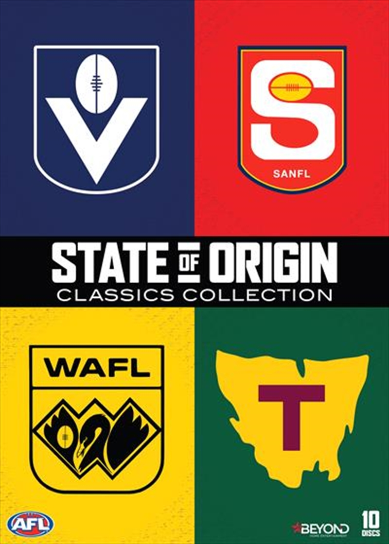 AFL - State Of Origin   Classics Collection   DVD
