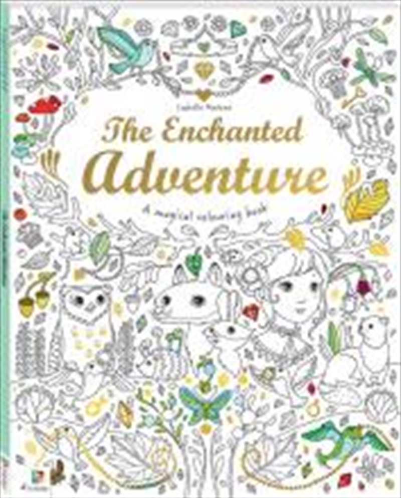 Enchanted Adventure, The | Colouring Book