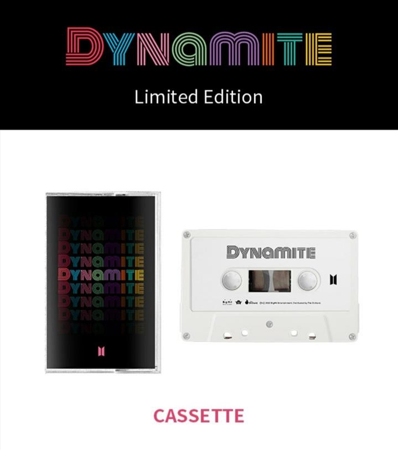 Dynamite - Limited Edition (ONLINE ONLY)   Cassette