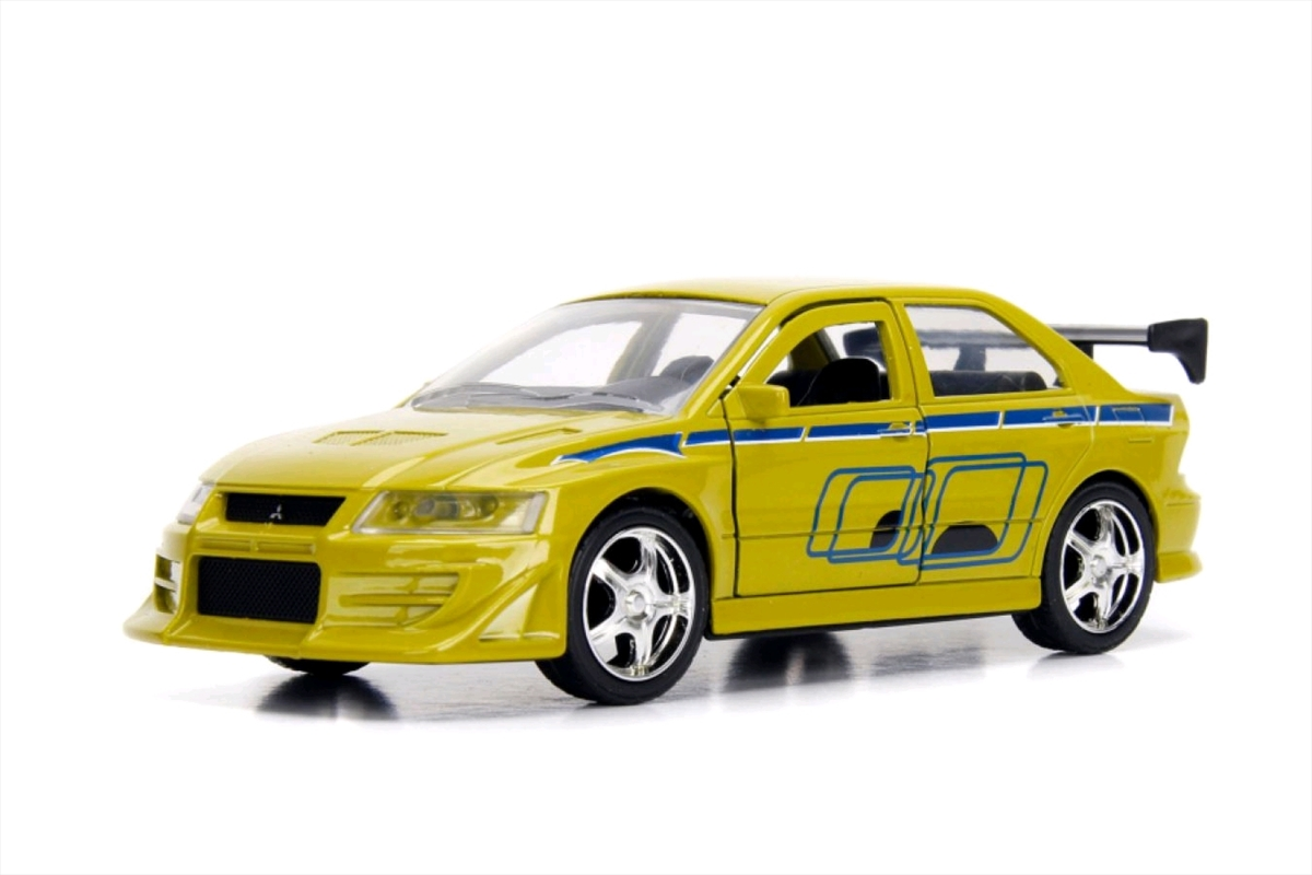 Fast & Furious - 2002 Mitsubishi Lancer EVO VII 1:32 Hollywood Ride | Merchandise