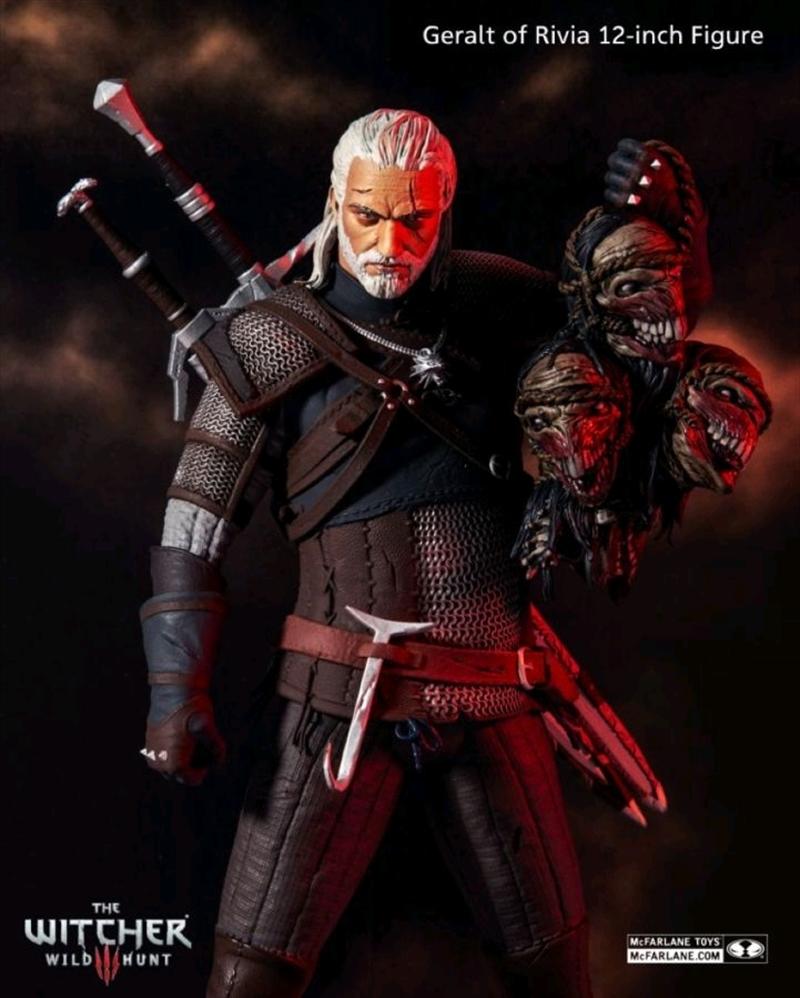 "The Witcher - Geralt 12"" Action Figure   Merchandise"