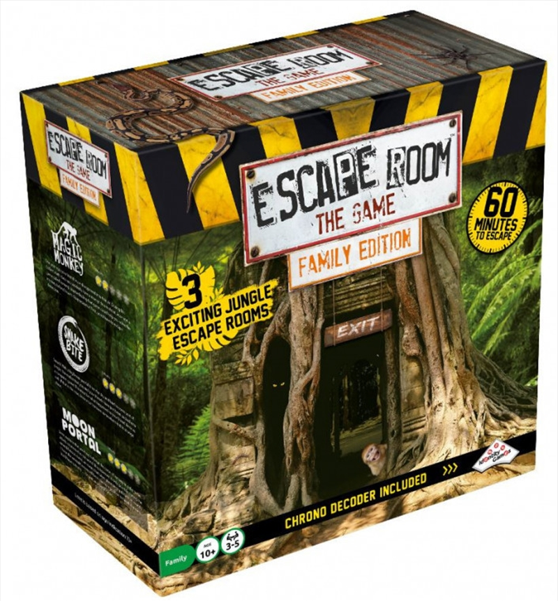 Escape Room the Game Family Edition - Jungle | Merchandise