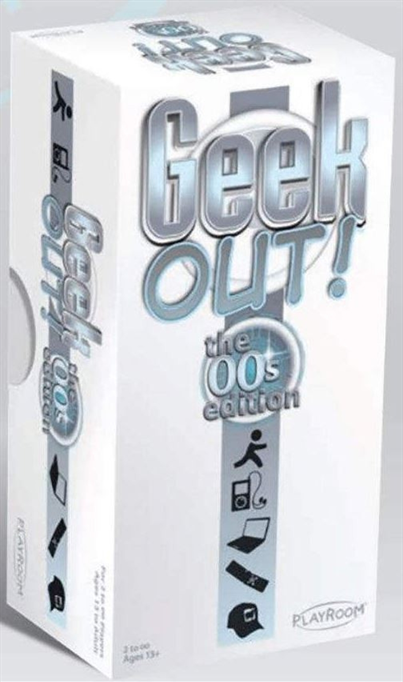 Geek Out! 00's Edition   Merchandise