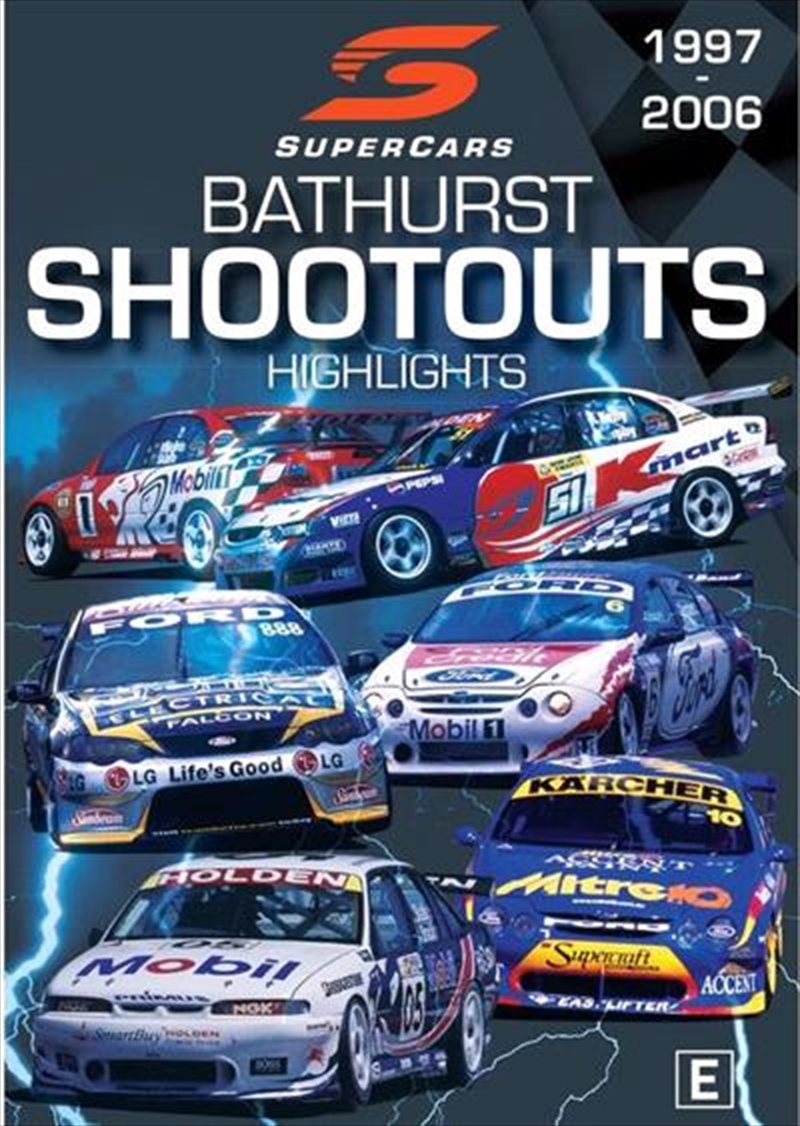Supercars - Bathurst Shootouts 1997-2006   DVD