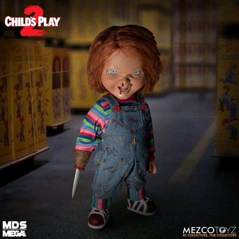 "Child's Play 2 - Menacing Chucky 15"" Mega Figure | Merchandise"