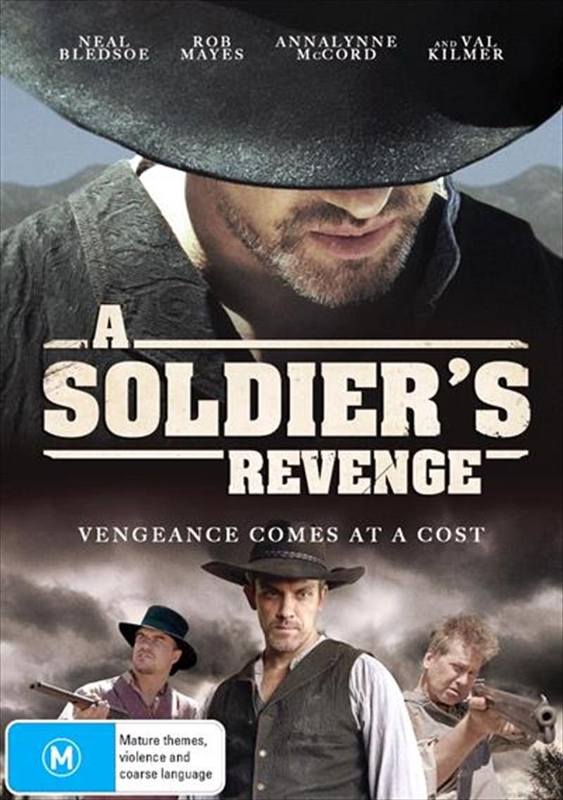 A Soldier's Revenge   DVD