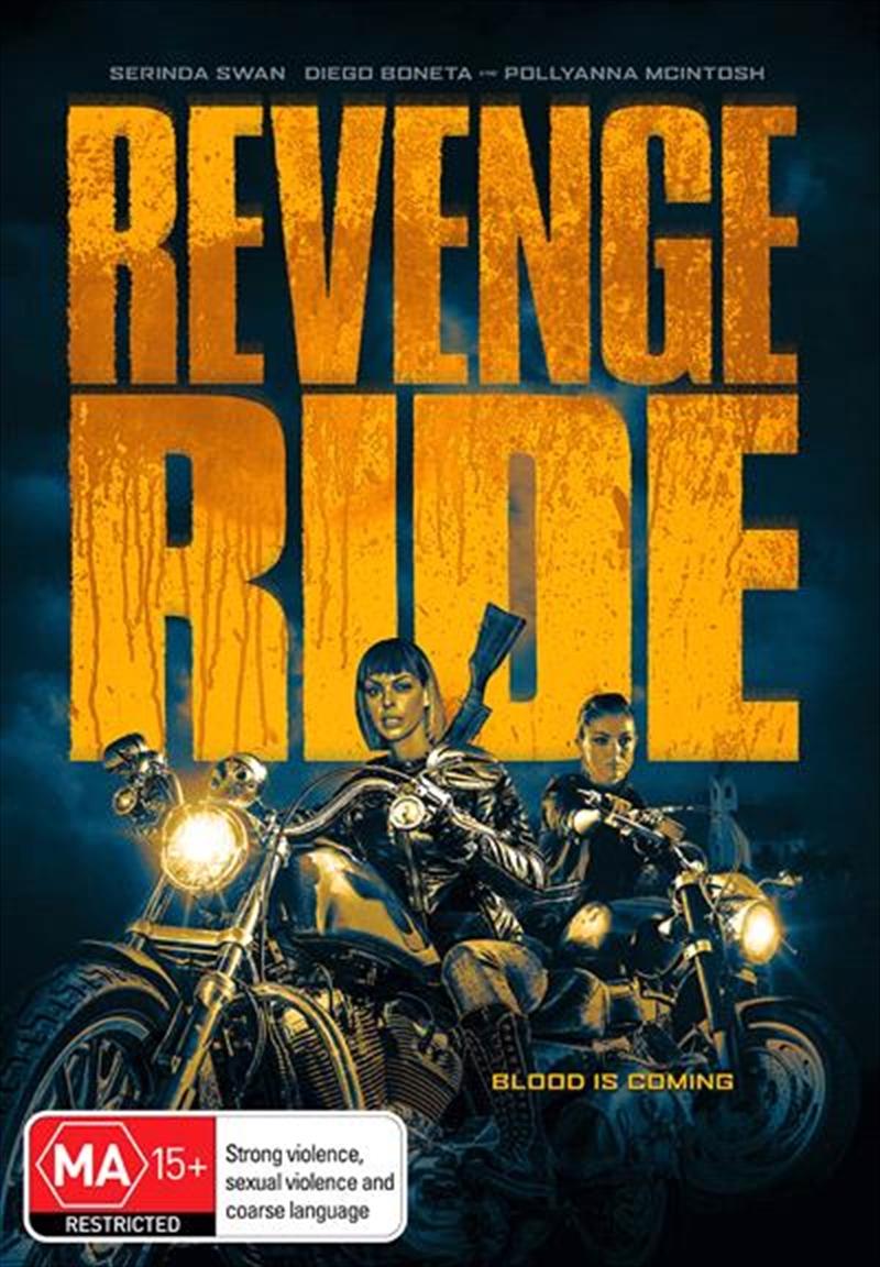 Revenge Ride   DVD