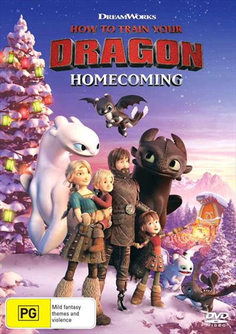 How To Train Your Dragon - Homecoming | DVD