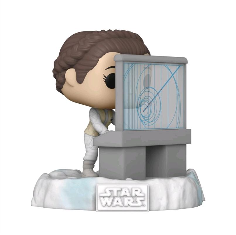 Star Wars - Leia US Exclusive Pop! Deluxe Diorama [RS]   Pop Vinyl