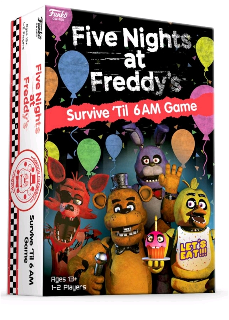 Five Nights at Freddy's - Survive 'til 6am Game | Merchandise