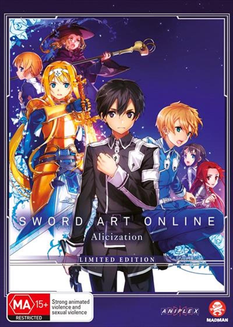 Sword Art Online - Alicization - Part 2 - Eps 14-24 - Limited Edition | DVD