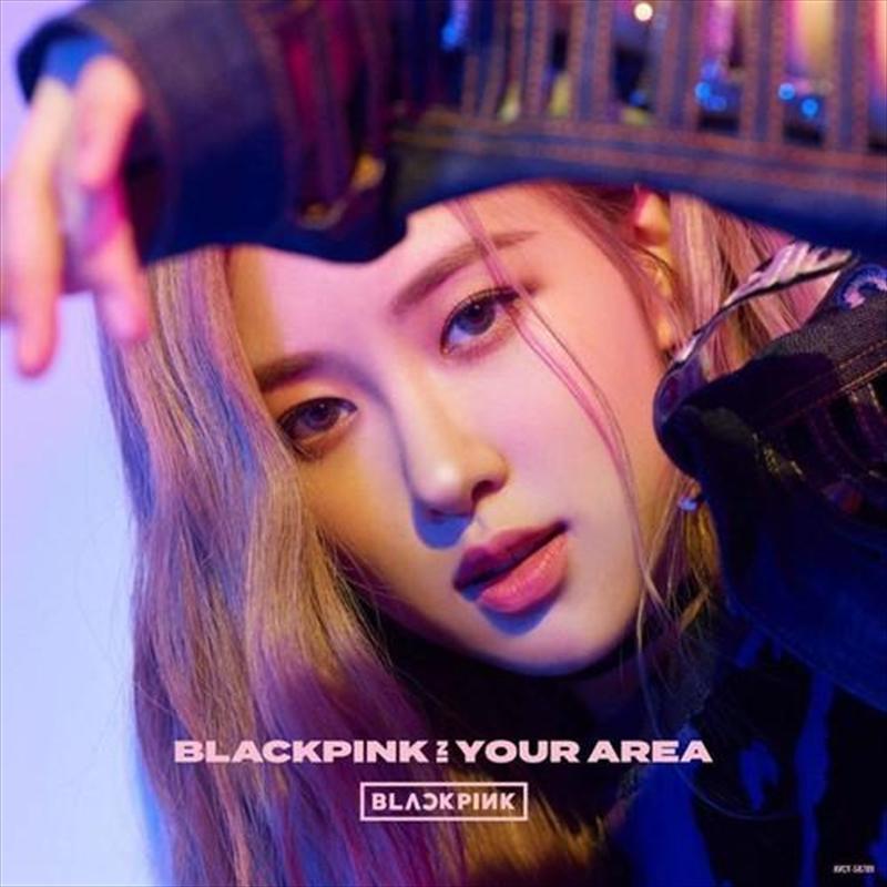 Blackpink In Your Area - Rose Version   CD