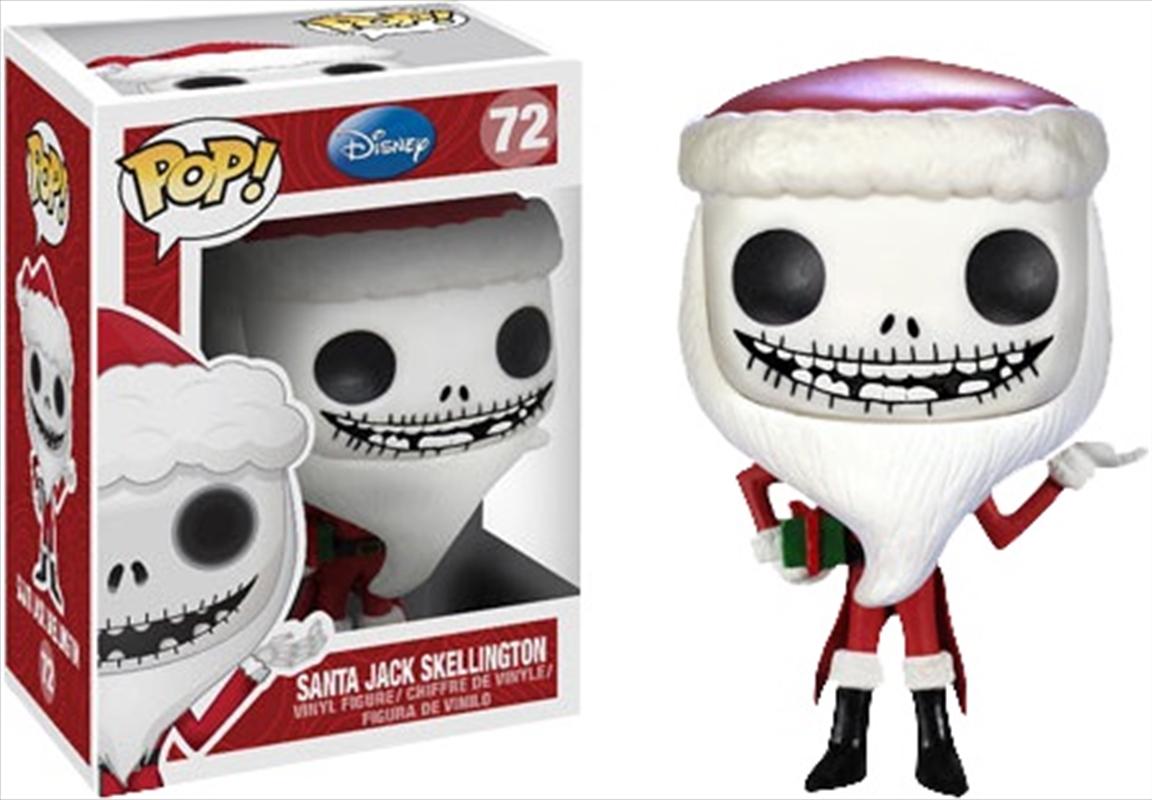 The Nightmare Before Christmas - Santa Jack Pop! Vinyl | Pop Vinyl