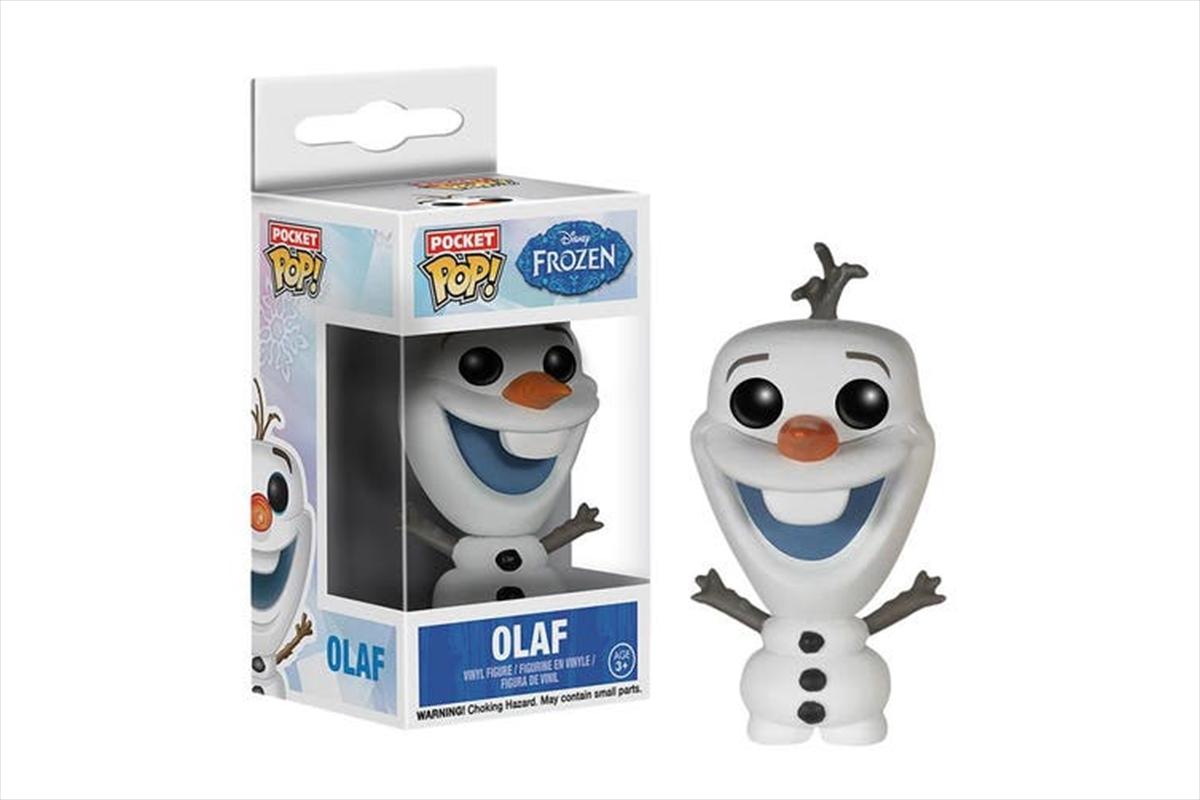 Olaf Pocket Pop Keychain   Accessories